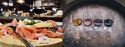 Des vins bios locaux à déguster avec fromage et charcuterie